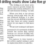 Breaker says gold drilling results show Lake Roe growth & potential